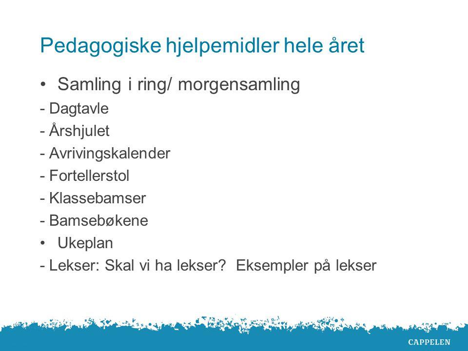  Tallinje  Skålvekt  Brikker til overhead.  Symboler = + - i filt, papp e.l  Smartboard  Terningspill (tellespill), Yatzy  Data: www.gyldendal.