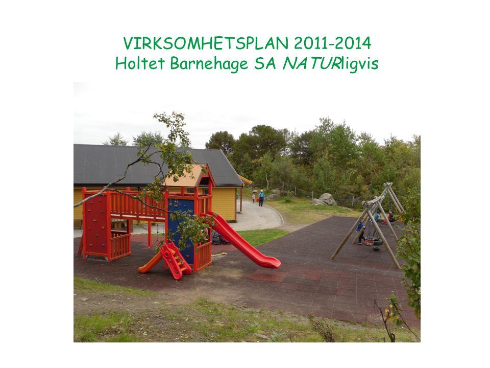 Innholdsfortegnelse s.3 Innledning s. 4 Holdningene og verdigrunnlaget i Holtet Barnehage s.