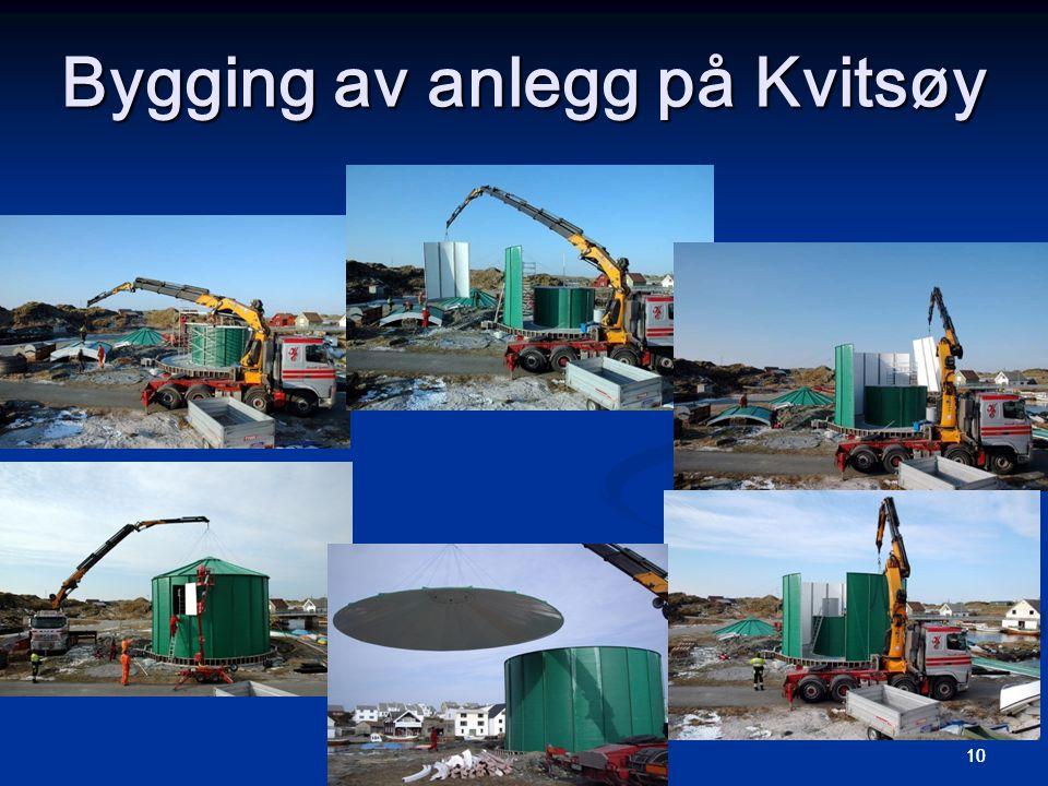 10 Bygging av anlegg på Kvitsøy