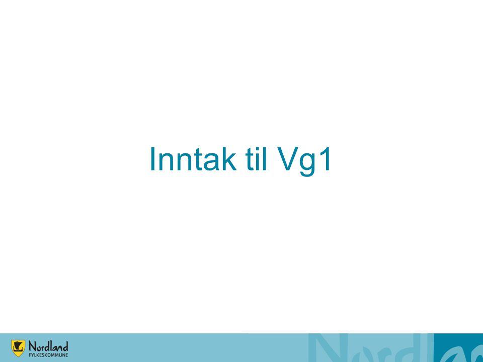 Inntak til Vg1