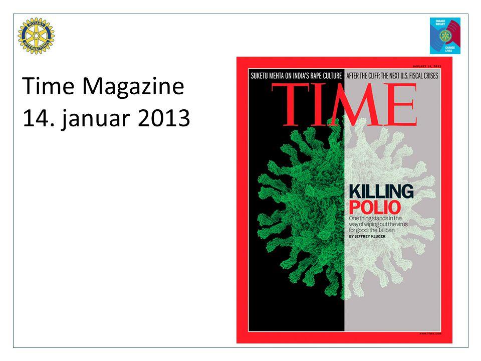 Time Magazine 14. januar 2013