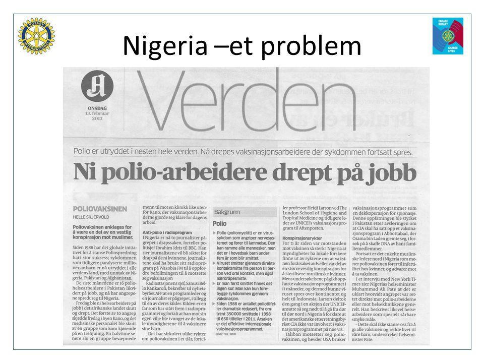 Nigeria –et problem