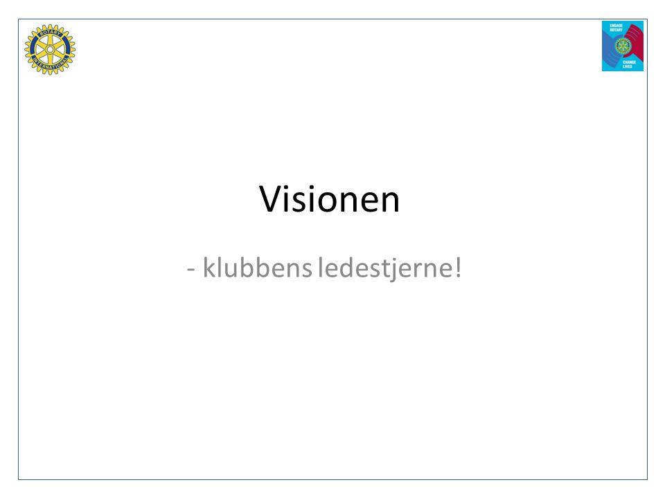 Visionen - klubbens ledestjerne!