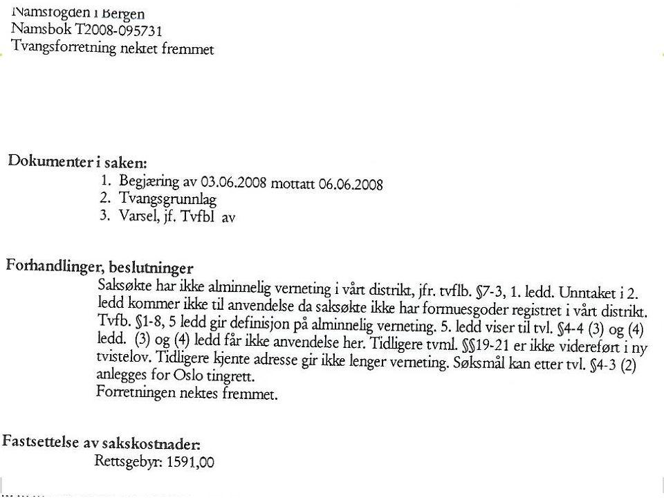 www.kredinor.no 28.06.2014 Advokat Baard Sig. Bratsberg 22