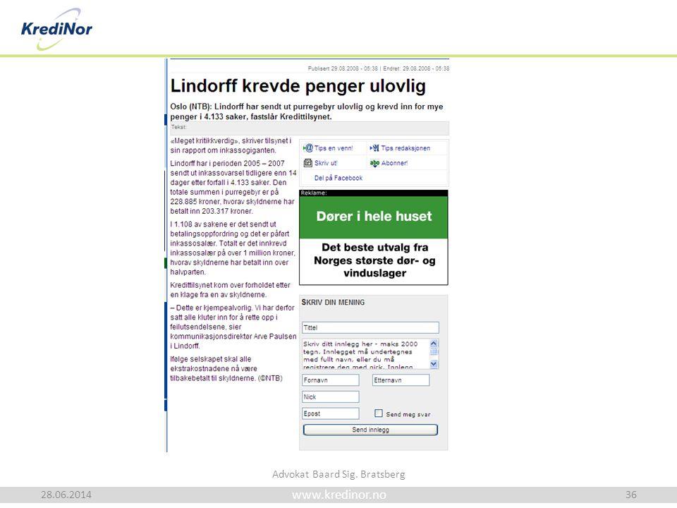 28.06.2014 Advokat Baard Sig. Bratsberg 36