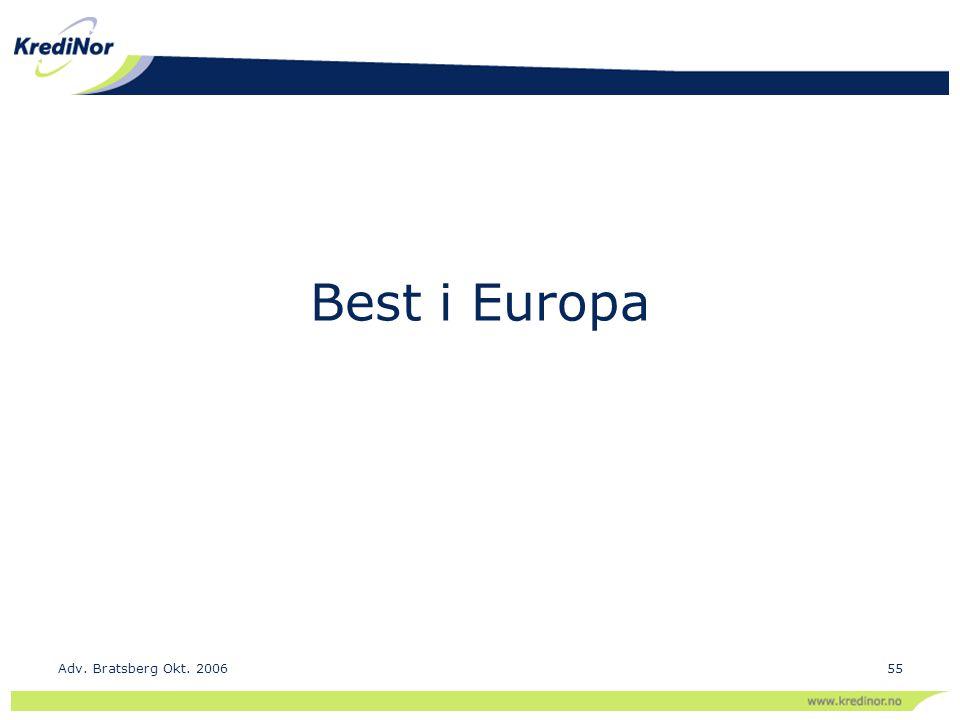 Best i Europa Adv. Bratsberg Okt. 200655