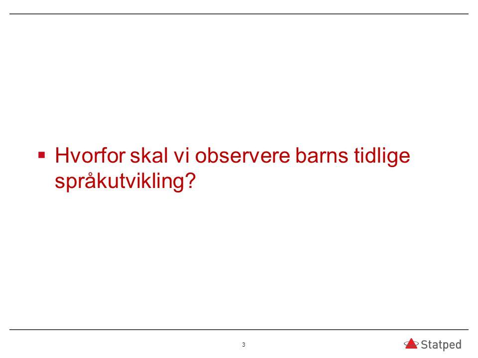  TRAS er oversatt og bearbeidet til flere språk; svensk, dansk, færøysk, grønlandsk, sør-samisk, nord -samisk og etter hvert lule-samisk og er under bearbeidelse og oversettelse til islandsk –TRAS brukes i 92% av de kommunale barnehagene og i 75% av de private (Rambøll Management 2008)  TRAS er også validert opp mot andre instrumenter, som: –TROG, BPVS, Setningsminne WPPSI –Resultatene viser at TRAS er et egnet instrument til å følge barns språkutvikling og til å bli oppmerksom på barn som strever med sin språktilegnelse (se kapittel om Validering i bokens del 1)  TRAS er tema for mange masteroppgaver – og også i doktorgradsprosjekter  TRAS brukes mye i prosjektarbeid 74 Espenakk og Færevaag /2014
