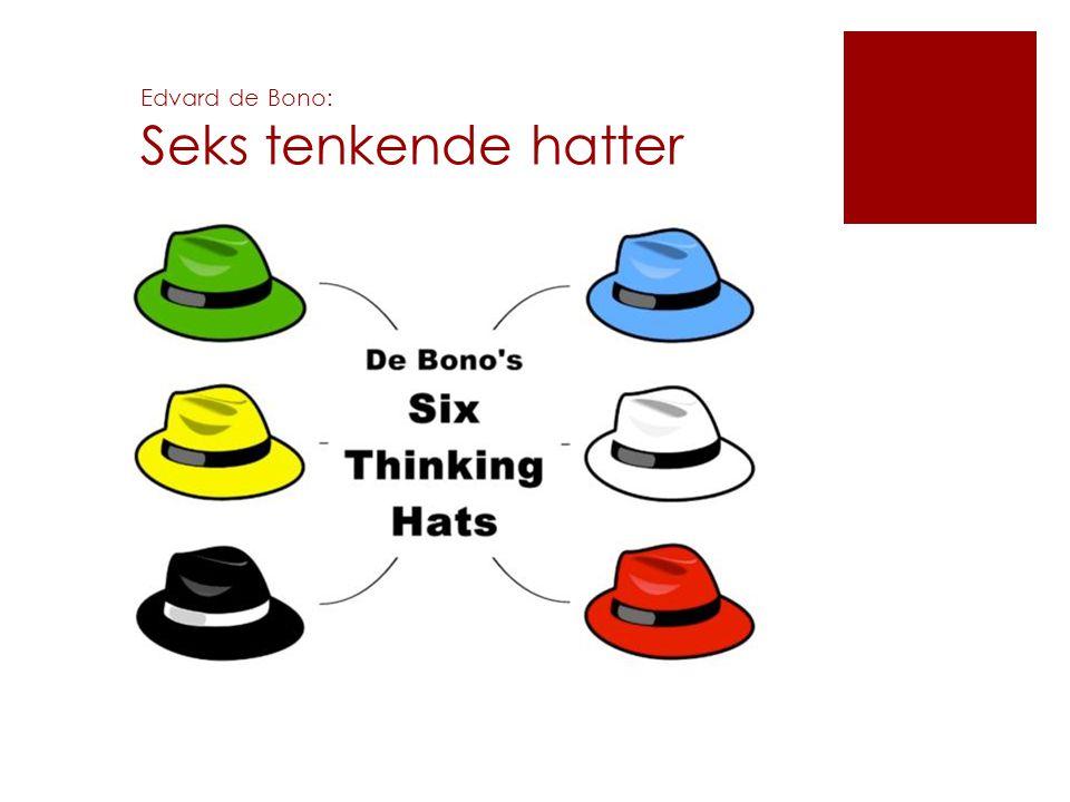 Edvard de Bono: Seks tenkende hatter