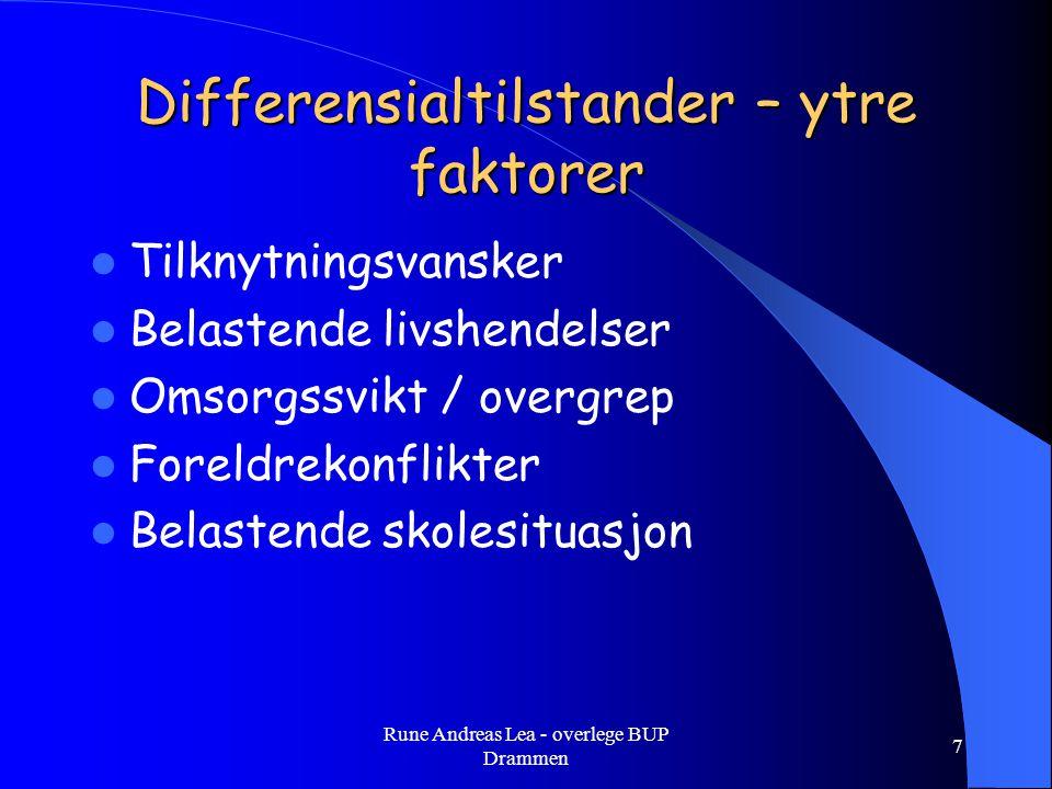 Rune Andreas Lea - overlege BUP Drammen 18