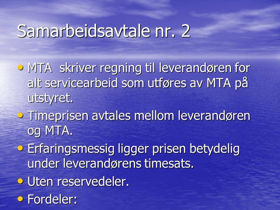 Samarbeidsavtale nr.3 • Risksharing.
