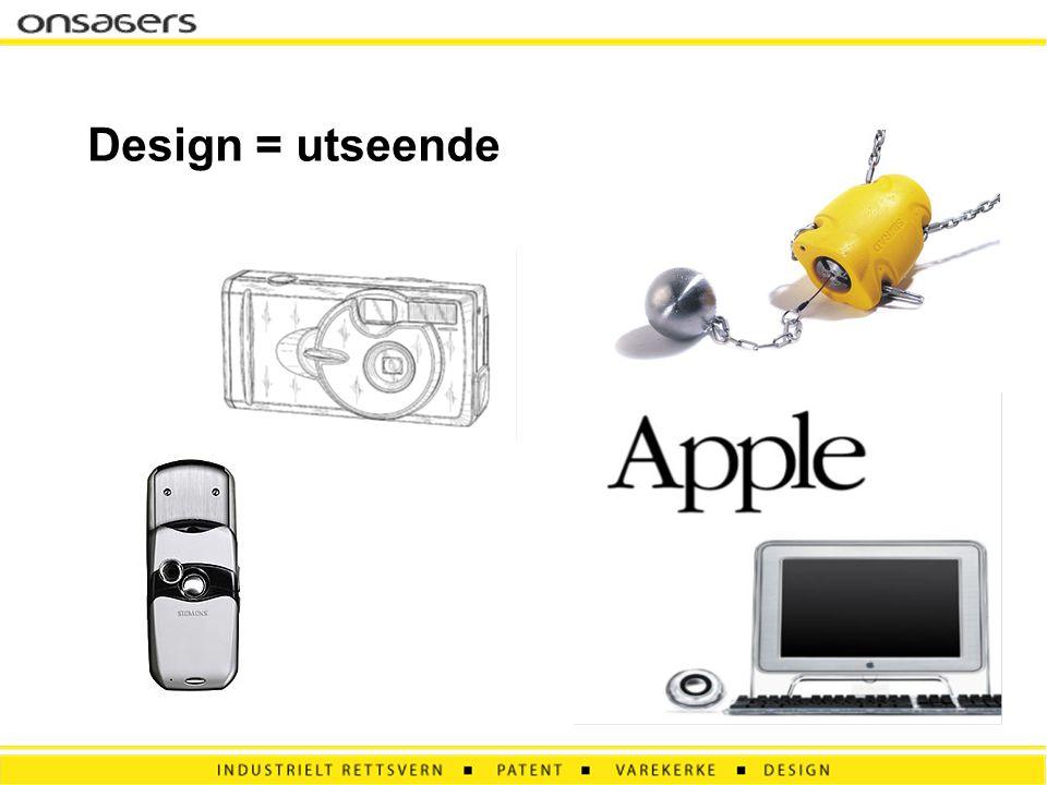 Design = utseende
