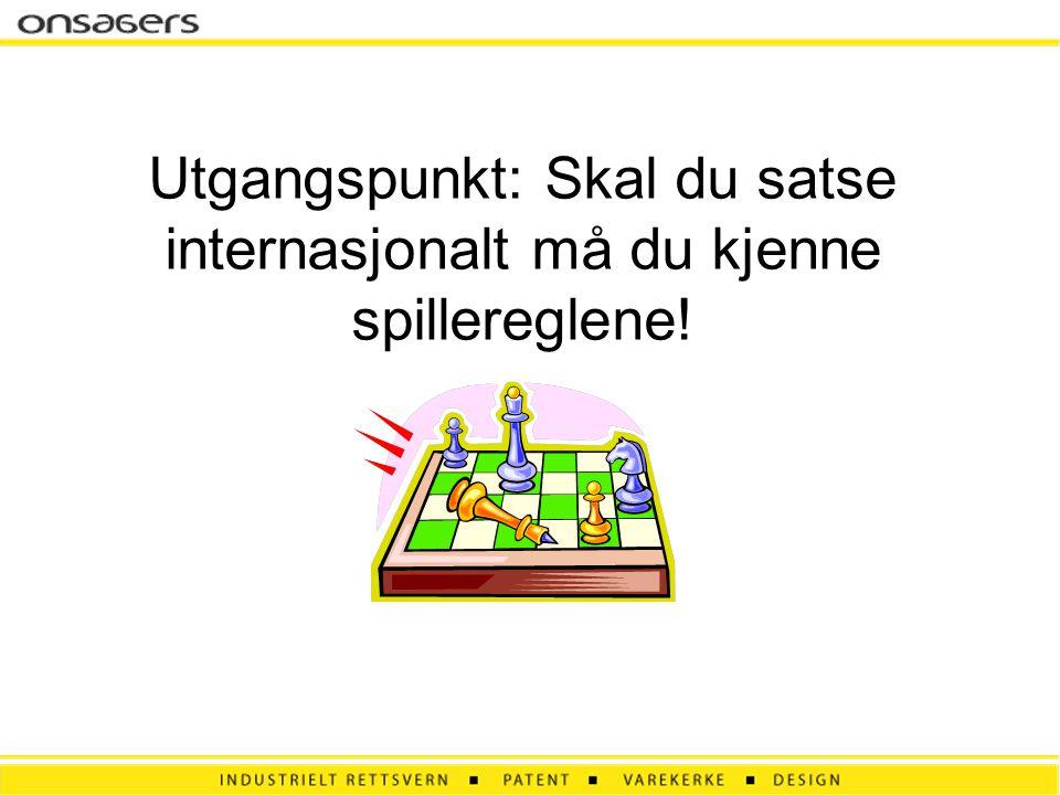 Utgangspunkt: Skal du satse internasjonalt må du kjenne spillereglene!