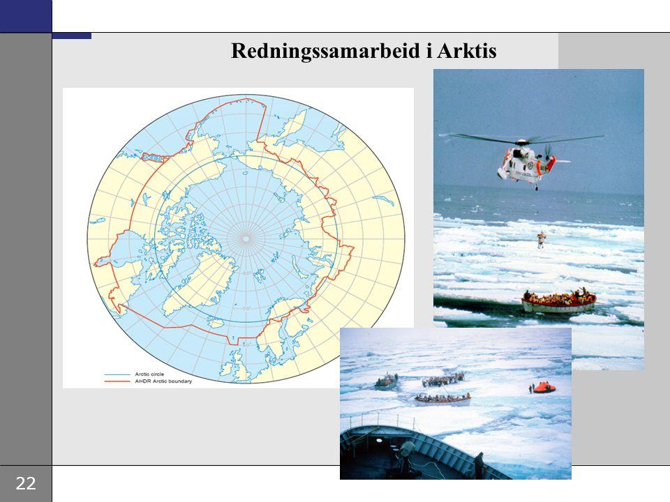 22 Redningssamarbeid i Arktis
