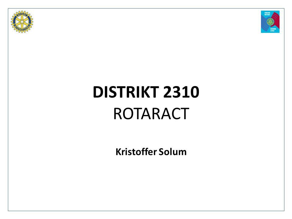 DISTRIKT 2310 ROTARACT Kristoffer Solum