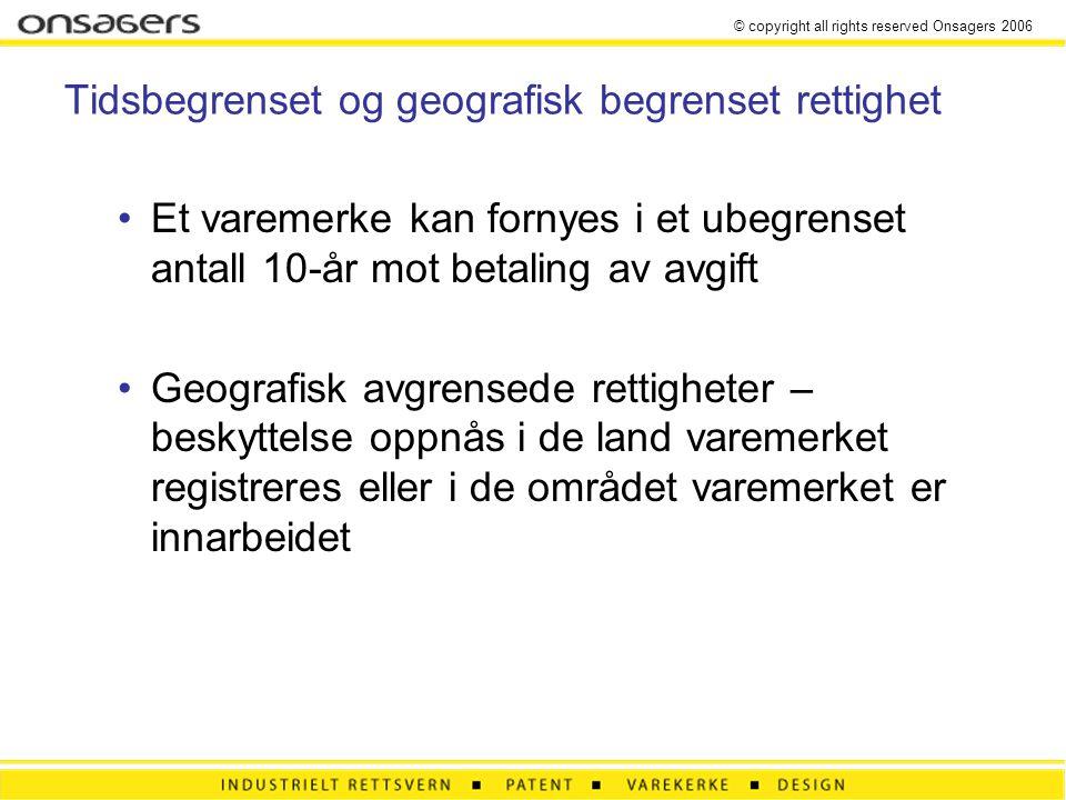 © copyright all rights reserved Onsagers 2006 Hvem har rett til en patenterbar oppfinnelse.