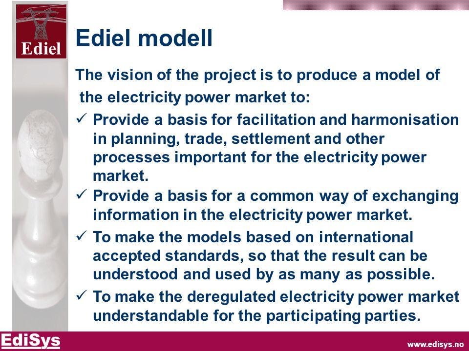 www.edisys.no Ediel Change of customer