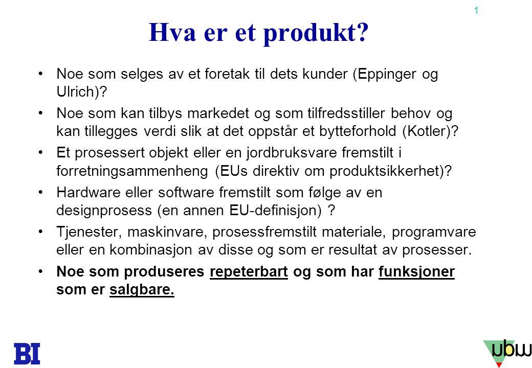 32 Copyright Tore H. Wiik Spesifikasjonsarbeidet