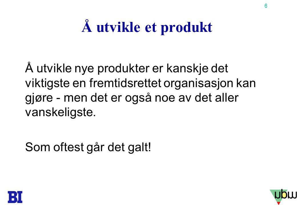47 Copyright Tore H. Wiik Interessentanalyse