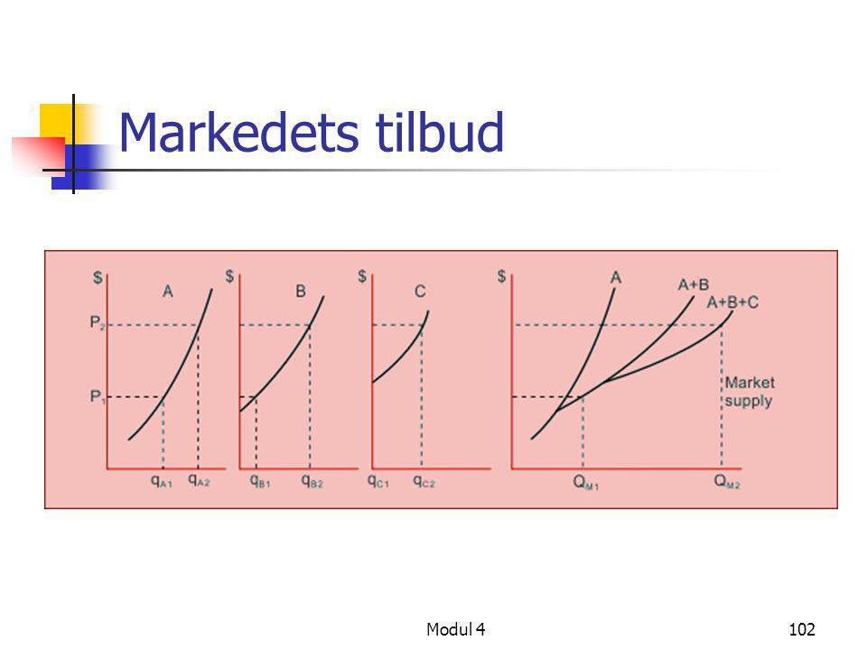 Markedets tilbud Modul 4102