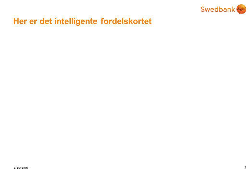 © Swedbank Fordelskort i banken 5