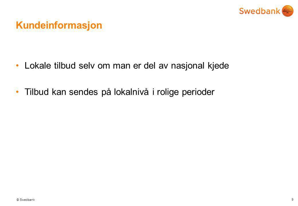 """© Swedbank Kundeinformasjon •Alle wallet løsninger """"gis bort"""" billig google vil ha informasjon ikke tjene penger på transaksjoner.... •Informasjon = v"""
