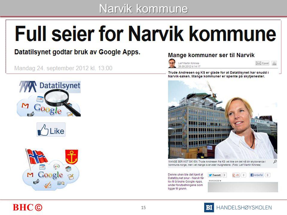 BHC © 15 Narvik kommune