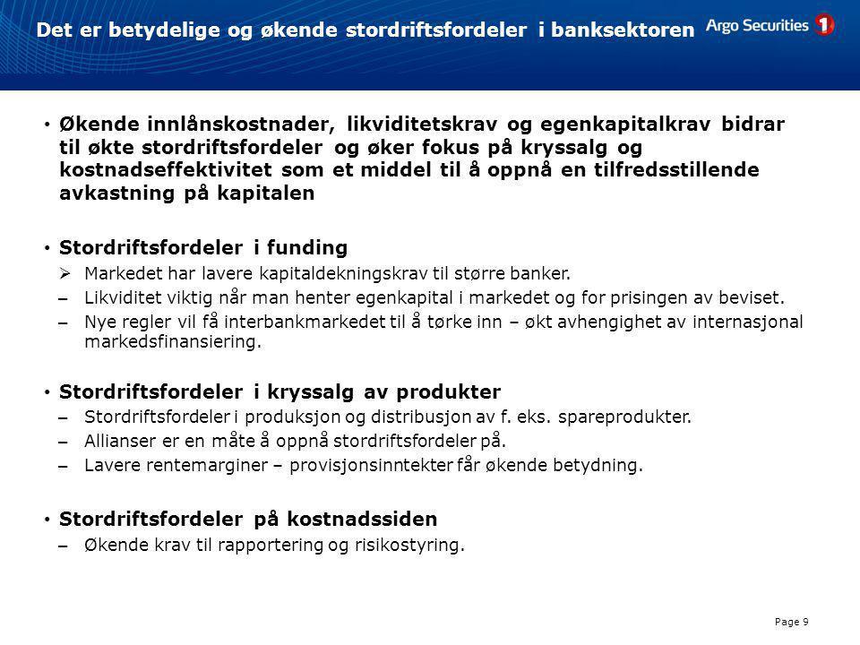 SpareBank 1 Nord-Norge • Med et kursmål på NOK 137 er SNN vår favoritt blant de mer likvide egenkapitalbevisene.