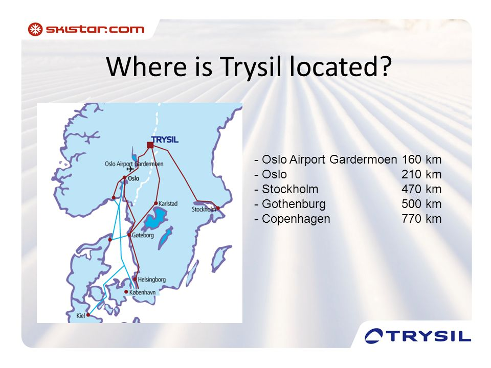 Where is Trysil located.