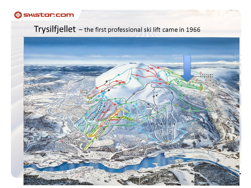 Trysilfjellet – the first professional ski lift came in 1966