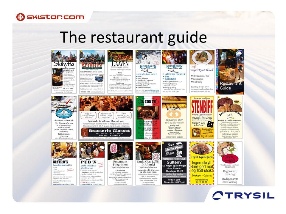 The restaurant guide