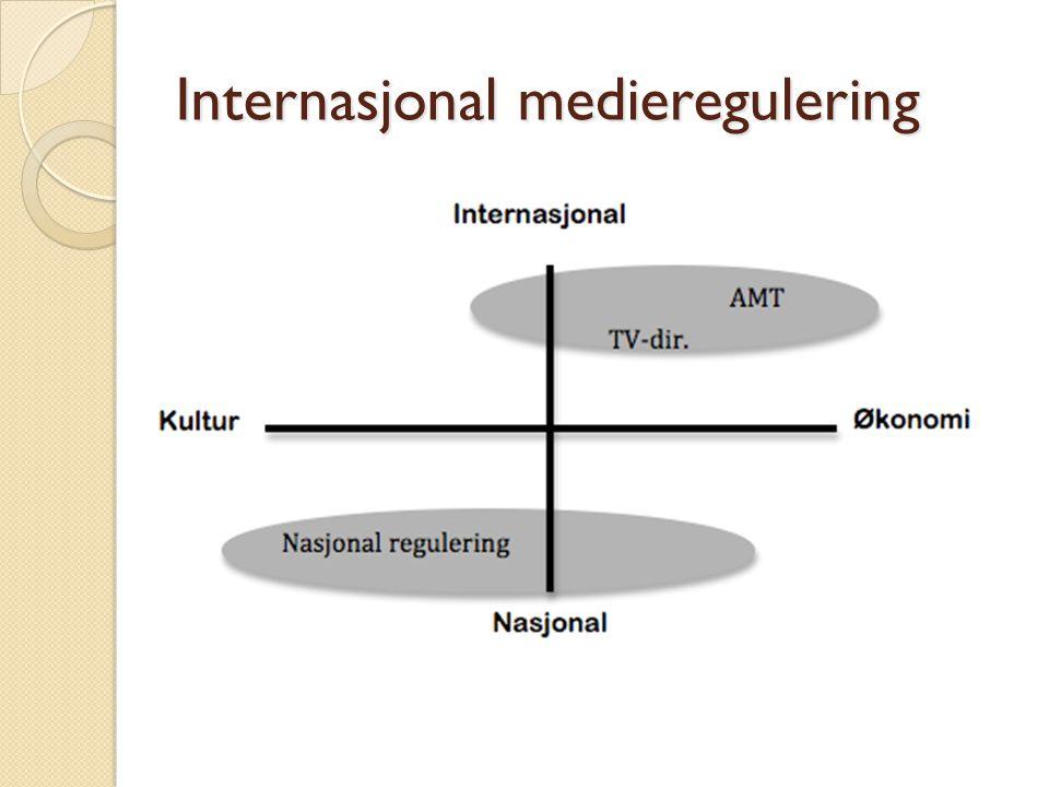Internasjonal medieregulering