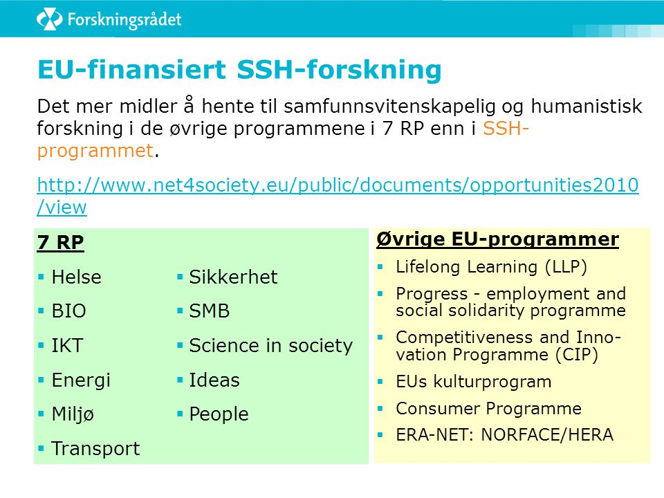 Aktivitet 2: Kombinerte perspektiver: økonomiske, sosiale og miljø Research challenge:  Economic, social and political conditions for satisfying the world food needs Topics:  Combating poverty in Europe: a key question of human dignity and social cohesion  Addressing cohesion challenges in Central and Eastern Europe