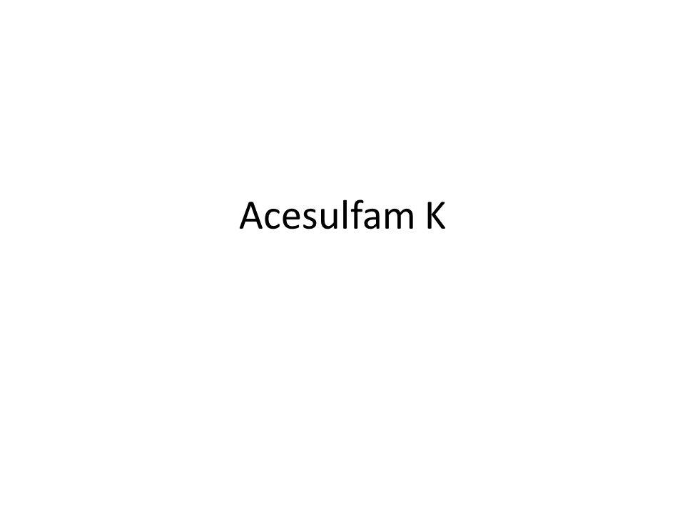 Acesulfam K