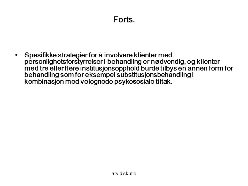 arvid skutle Forts.