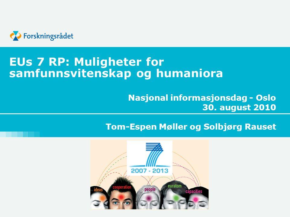 Nasjonal informasjonsdag - Oslo 30.