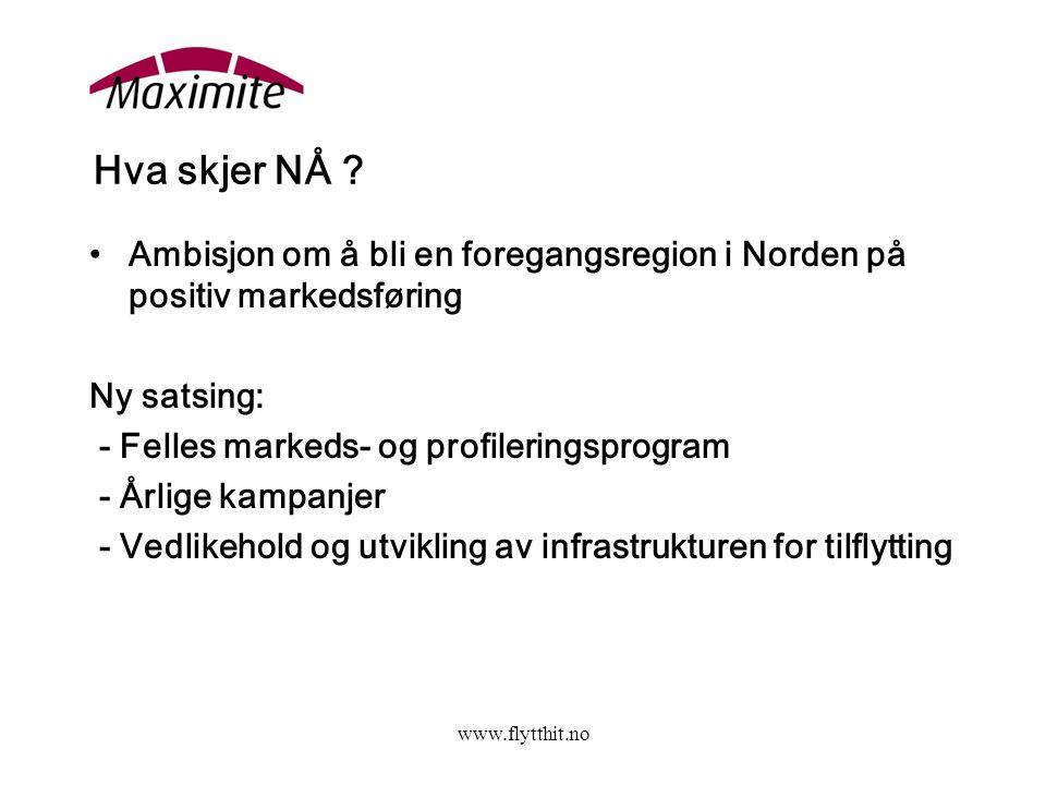 www.flytthit.no Hva skjer NÅ .