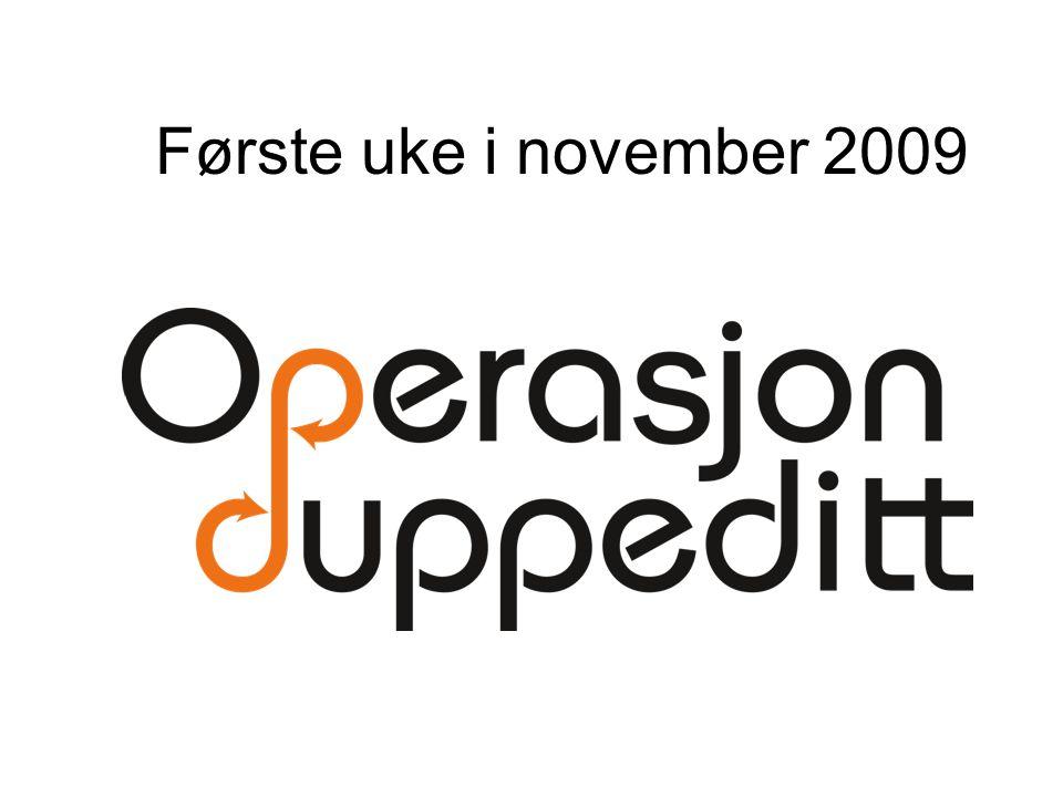 Første uke i november 2009