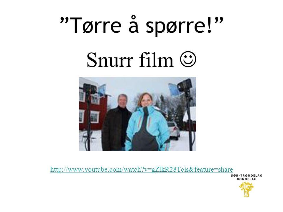 Tørre å spørre! Snurr film  http://www.youtube.com/watch?v=gZlkR28Tcis&feature=share