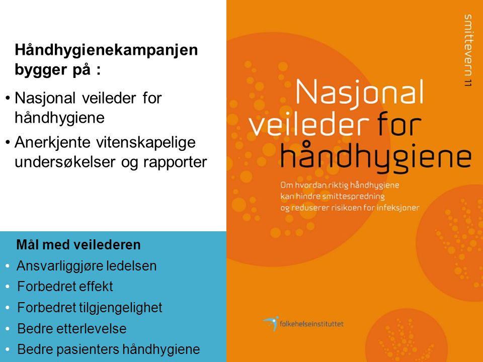 www.renomsorg.no Nesten alle sykehus (62) og ca 250 sykehjem er med.