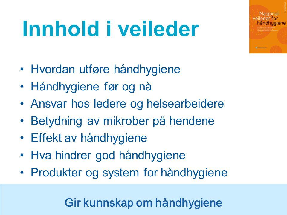 Hope Hospital - internett læring Materiell – lastes ned fra www.renomsorg.no