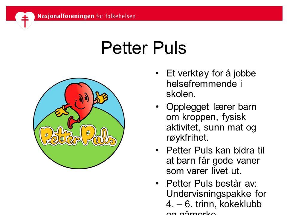 Aktivitetsheftet vil bli brukt Vil du bruke aktivitetsheftet etter at du og dine elever er ferdig med Petter Puls som undervisningsopplegg.