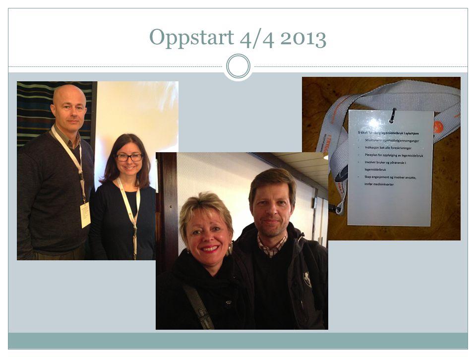 Oppstart 4/4 2013