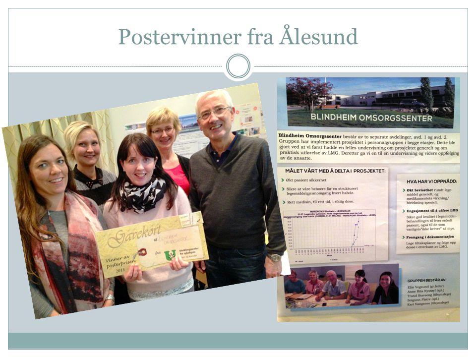 Postervinner fra Ålesund