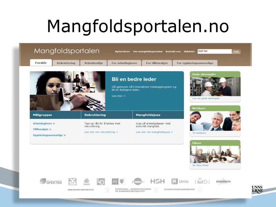 Mangfoldsportalen.no