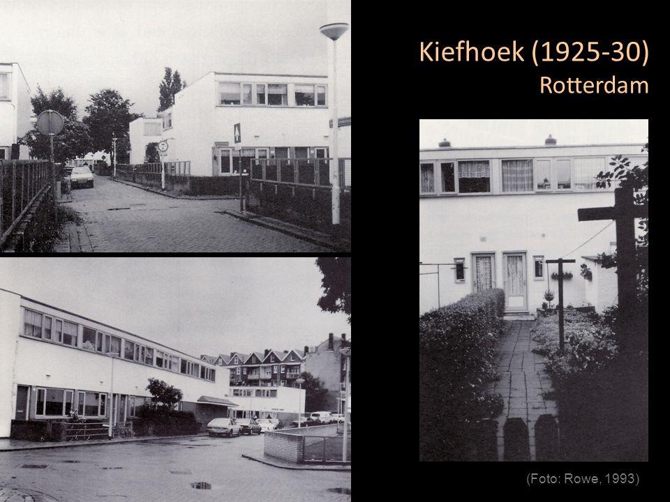 Kiefhoek (1925-30) Rotterdam (Foto: Rowe, 1993)