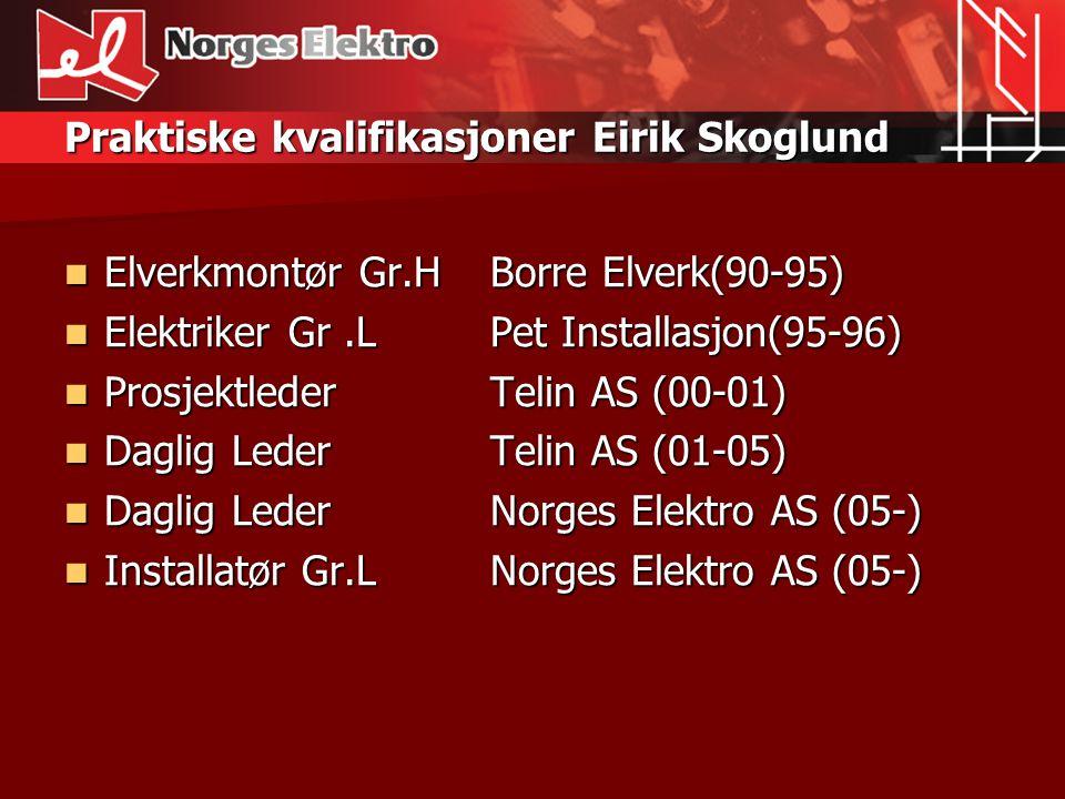 Litt om oss selv  Navn: Kenneth Grønberg. Alder: 35 År.