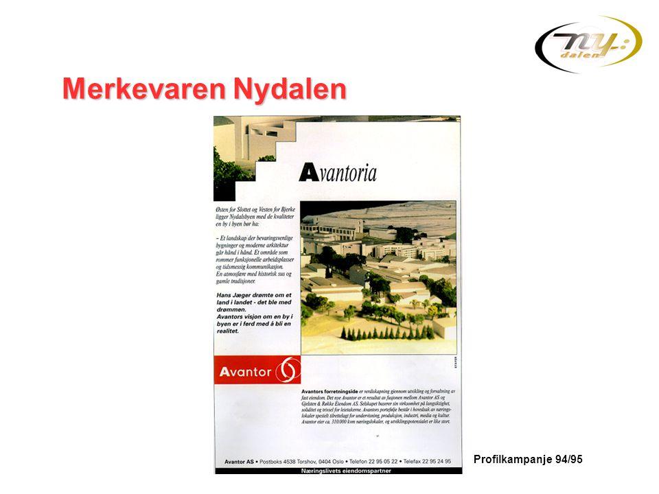 Merkevaren Nydalen Profilkampanje 94/95