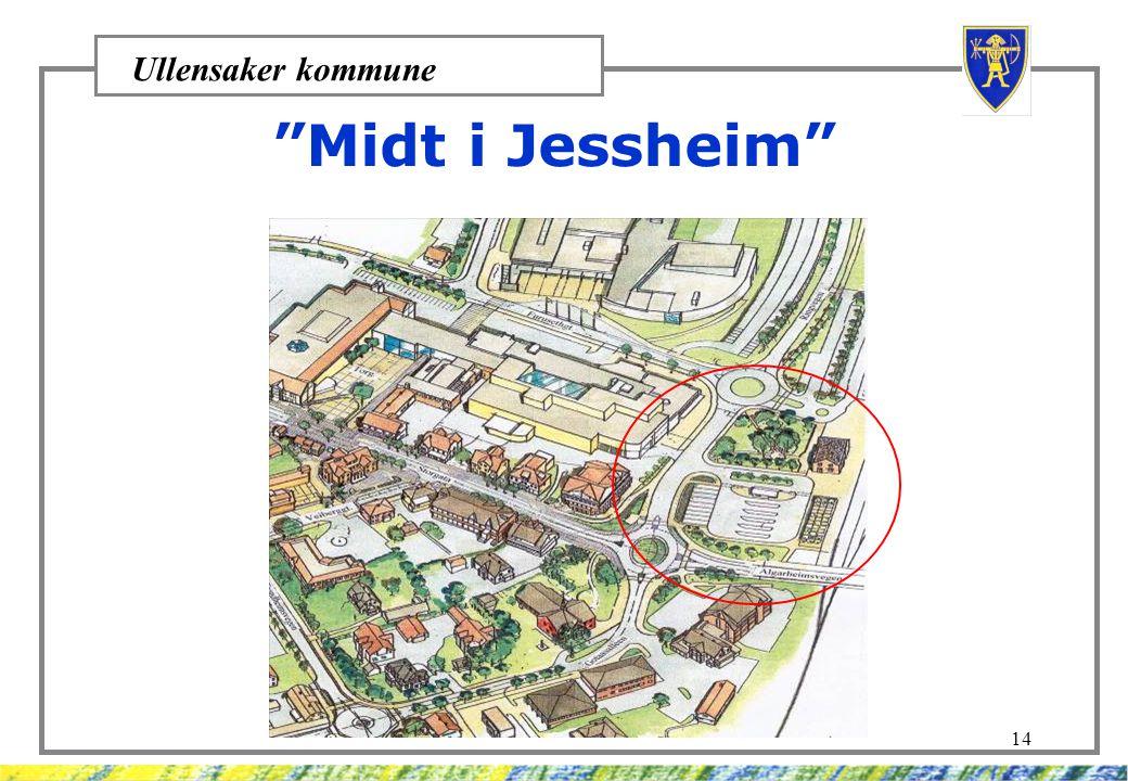 "Ullensaker kommune 14 ""Midt i Jessheim"""