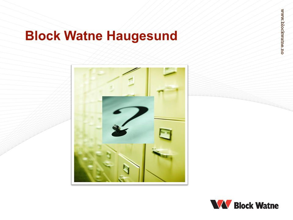Block Watne Haugesund