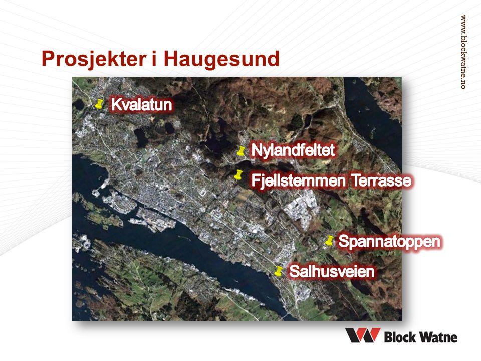 Prosjekter i Haugesund